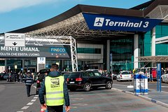 Transfer from Sorrento Coast to Fiumicino Airport (FCO) Rome