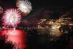 Positano Firework Show by Boat
