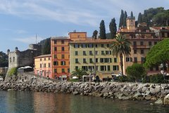Private Tour to Portofino and Santa Margherita from Genoa Cruise Port or Ho