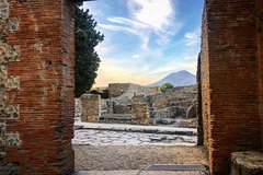 Pompeii And Vesuvius from Sorrento