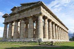 Paestum temples,Bufala Mozzarella farm,wine tasting in Cilento (from Sorren