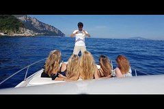 From Naples: Discover Capri Island by Boat Small Group Tour