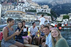 Luxury Positano and Capri private boat tour