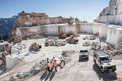 Carrara Marble Quarries Tour 4x4 Off Road Trip in Tuscany, stop Pisa &