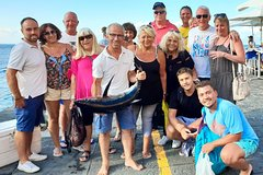 Fishing and Snorkeling Tour from Sorrento