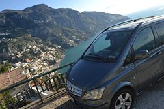 Private transfer with Mercedes-Benz Minivan from Positano to Naples and vic