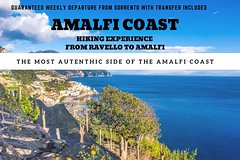 Amalfi Coast Hiking experience from ravello to amalfi with transfer