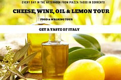 CHEESE, WINE OIL AND LEMON TOUR food and walking in Sorrento