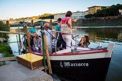 Vintage Barchetto Boat Ride on Arno River