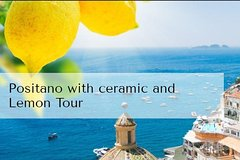 Positano with ceramic and Lemon Tour
