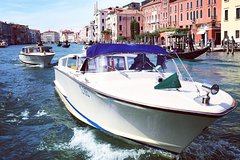 Private boat transfer from hotels in Venice to the Cruise Terminal