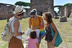 Ancient Ostia from Fiumicino Airport w/ Private Van Pickup & Guide Mari