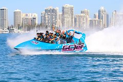 Gold Coast V8 Jet Boat Thrill ride