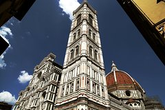 SANTA MARIA DEL FIORE, cathedral of Florence, and typical food