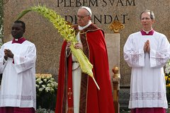 Palm Sunday Mass at Vatican with Pope Francis
