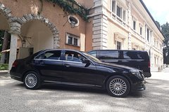 Private transfer from Fiumicino Airport to Rome or vv.