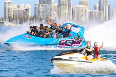 Gold Coast V8 Jet boat and 30min Jetski Safari Combo