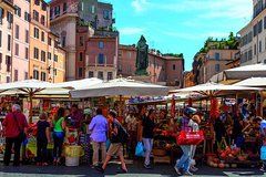 3-Hour Market Visit & Private Cooking Class in Rome with Lunch