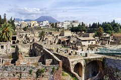 Herculaneum and Archeological museum of Naples - From Sorrento