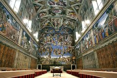 Sistine Chapel and Dinner in the Vatican Museums