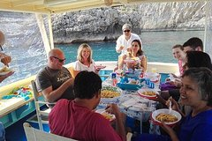 Fishing and lunch to Capri from Sorrento