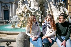 Guided Tour of Rome - Trevi Fountain, Navona Square , Pantheon & Spanis