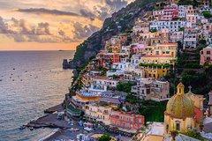 Capri & Sorrento from Positano