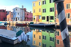 Murano and Burano by water taxi SHARED TOUR