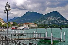 Full-Day Private Tour to Como Lake and Lugano from Milan