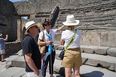 Skip-the-line Private Pompeii and Herculaneum Tour with Local Guide