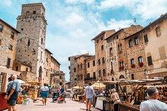 Day Tour to Siena, Monteriggioni and San Gimignano from Rome