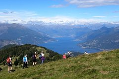 Trekking in the hills of Lake Como private guided tour
