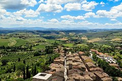 Full-Day Private Tour Siena and San Gimignano from Florence