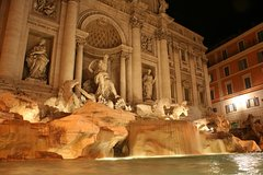 Rome by Night Private Sightseeing Chauffeured Tour - Hotel pick up/drop off