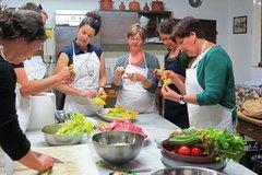 Cooking School inside Capezzanas Medicean Villa