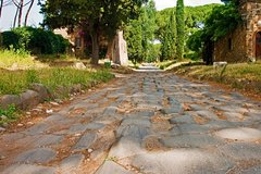 Appian Way Bykes and No People - Francesco Apice Your Guide In Rome