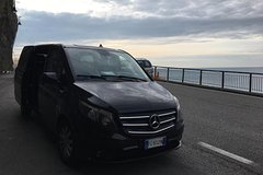 Private Transfer by Luxury Van from Amalfi Coast to Naples