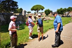 Ostia Antica archeological park and