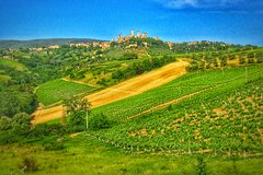 Chianti to San Gimignano E-bike Tour (half day)