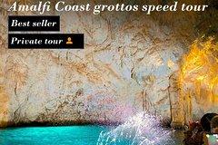 Amalfi Coast grottos speed tour