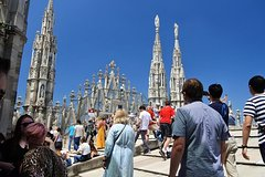 Milan - the Duomo Cathedral and rooftop private guided tour