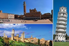 Private day trip to Siena, San Gimignano, Chianti and Pisa, from Florence