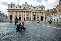 Kids Tour of Vatican Sistine Chapel & St.Peter with Hotel Pick up &