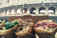 Rome Secret StreetFood Tour with Friendly Local Guide