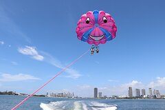 Gold Coast Parasail and 1.5hr Jetski Island Stop Safari Combo