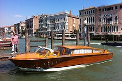 Private Transfer Venice Airport to Venice Centre by Watertaxi