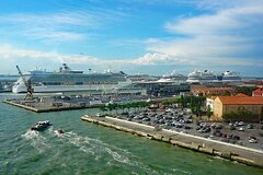 Private Water Taxi from Venice Centre to Venice Cruise Terminal