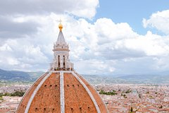 Florence Cathedral, view from Brunelleschis dome and Baptistery
