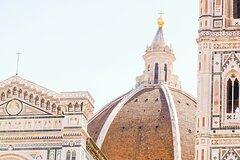 The Cathedral of Florence, view from Brunelleschis Dome and St.Johns Baptis