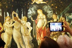 The Complete Florence Experience: Accademia and Uffizi Small Group Walking